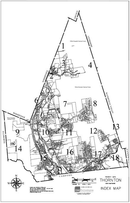 Thornton NH Index Map