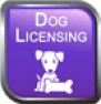 Dog Licensing Button